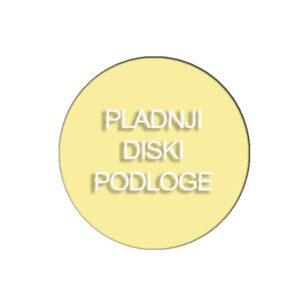 Pladnji in diski-podloge