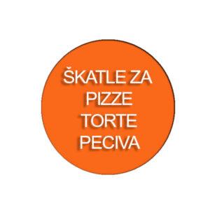 Škatle za pizze, torte, peciva,...